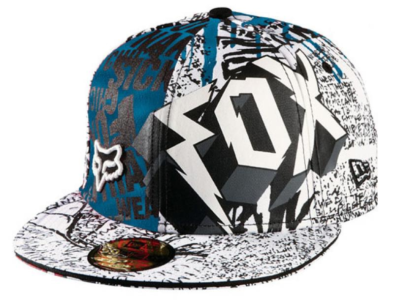 FOX RACING x NEW ERA Type-O-Negative59 Fifty Fitted Cap  186b65efd33